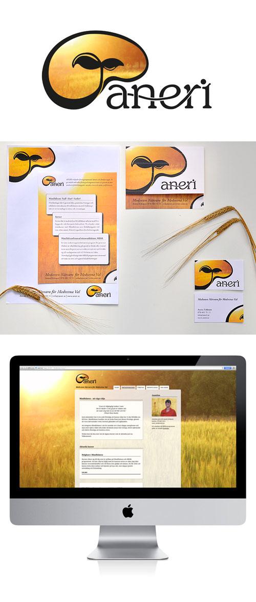 Aneri - logga och grafisk profil