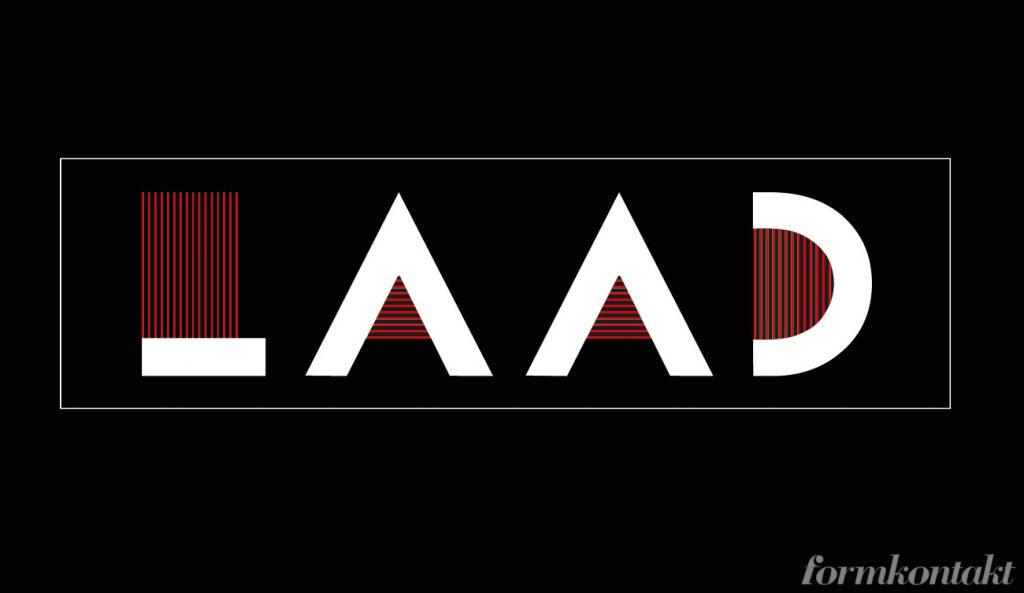 logotyp, retrotypsnitt, bifur, laad