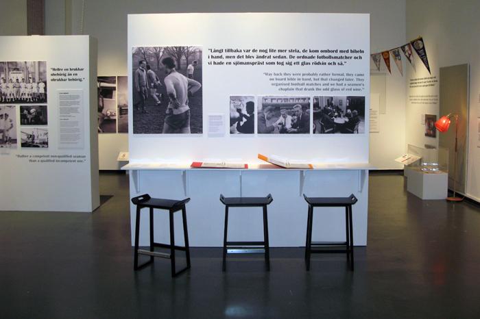 Utställningsform, sjömansminnen, Göteborgs sjöfartsmuseum