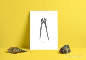 Snygga prints, verktyg, TOOLS