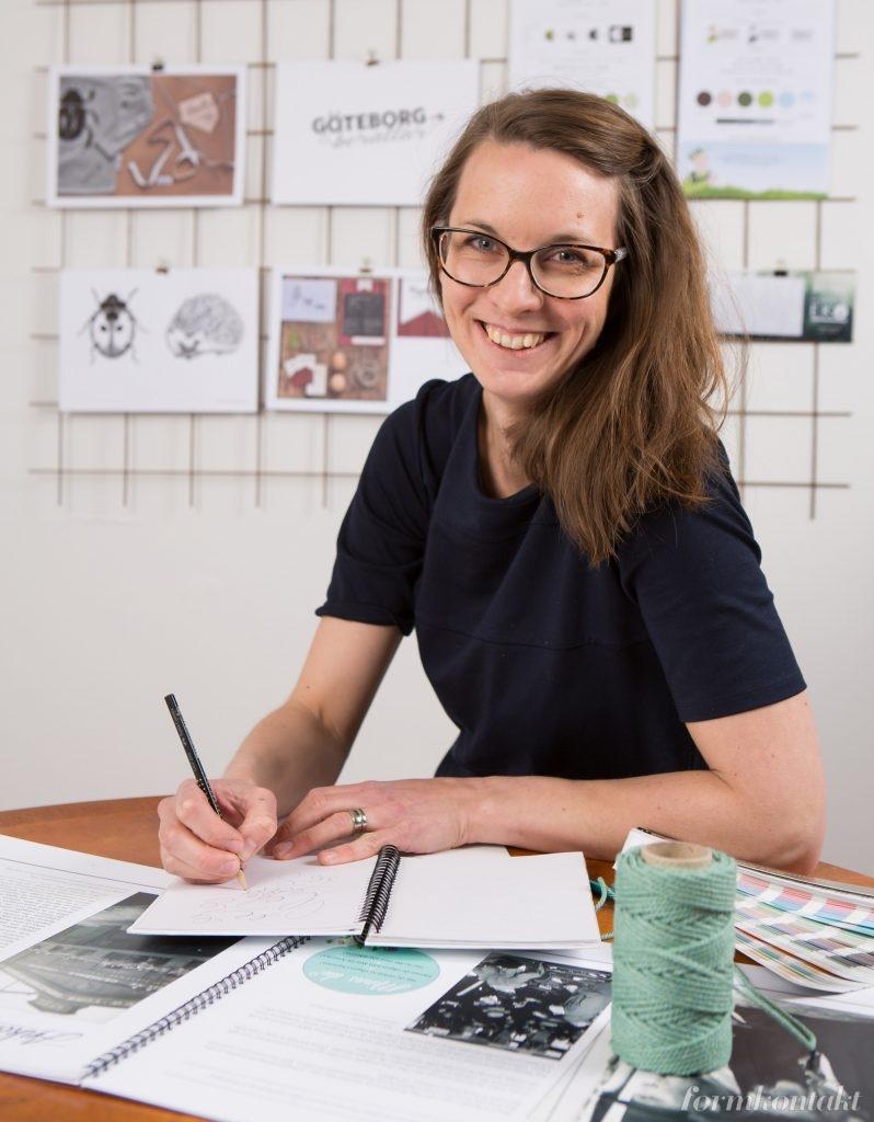 grafisk designer Marie Tidquist Lundin, Falköping