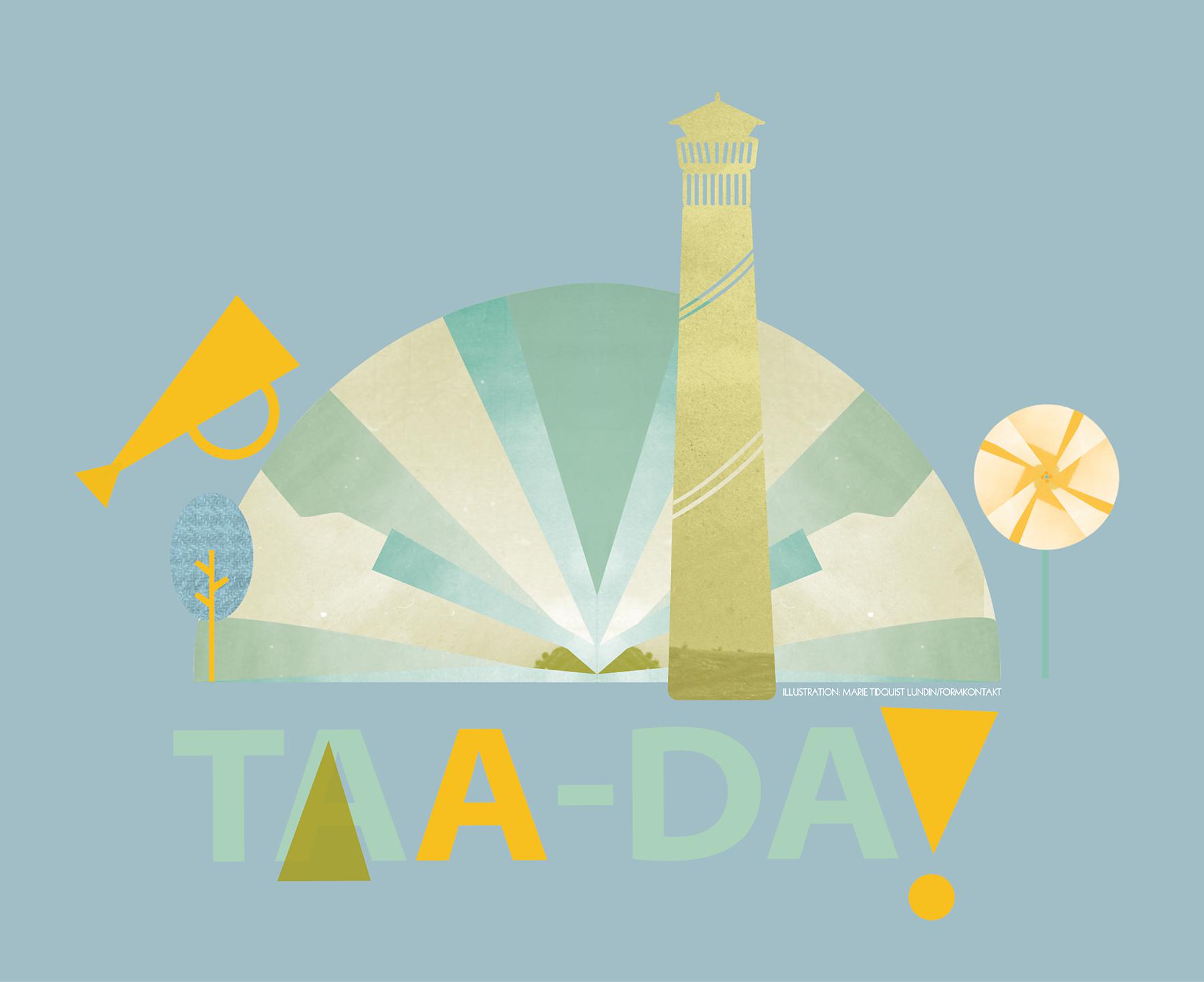 Falköpings kommun, illustrationer till Kulturstrategin, Marie Tidquist Lundin, Formkontakt
