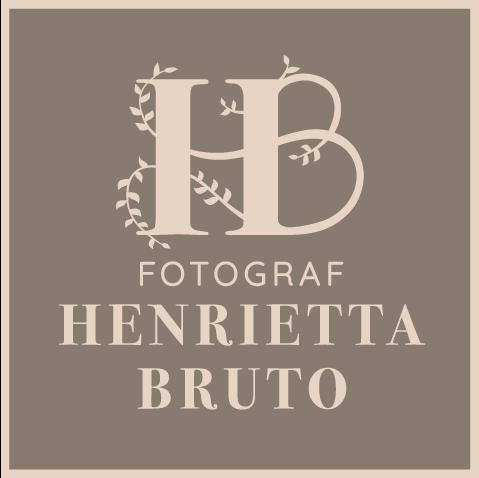 logotype Henrietta Bruto, logga fotograf