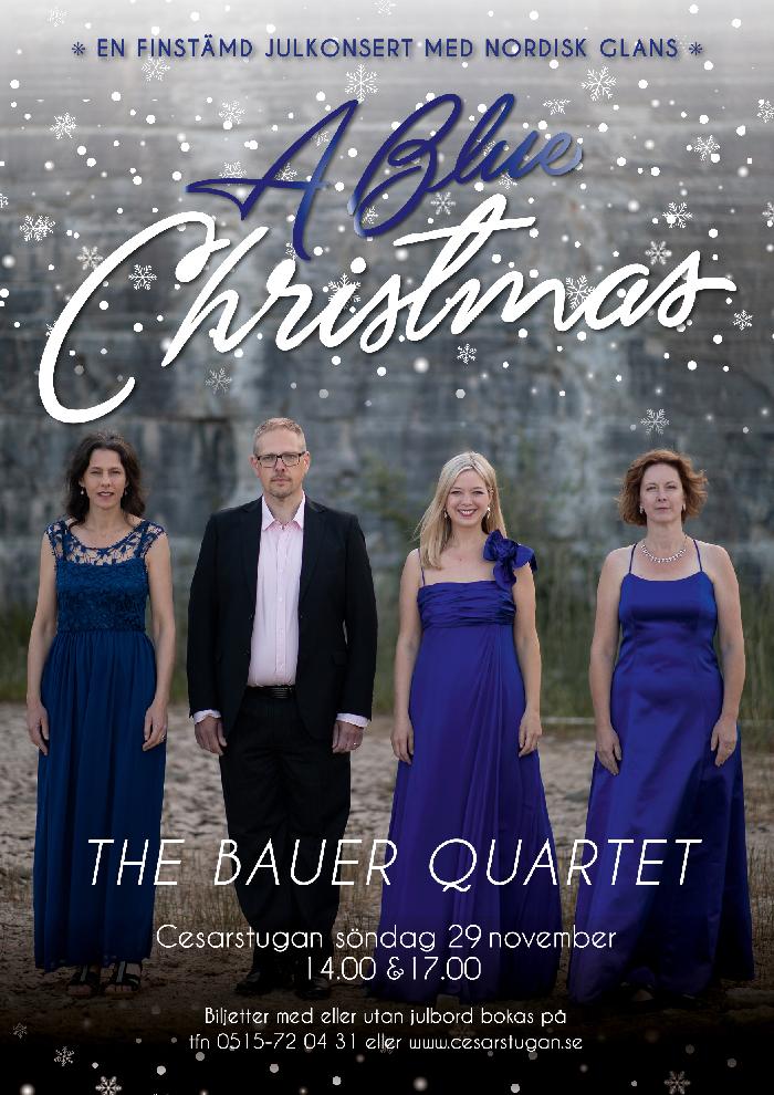 the Bauer quartet - grafisk profil och affischer