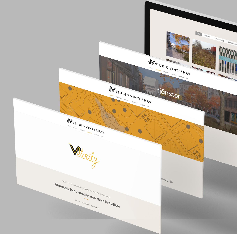 logotype, Velocity, grafisk design Stockholm
